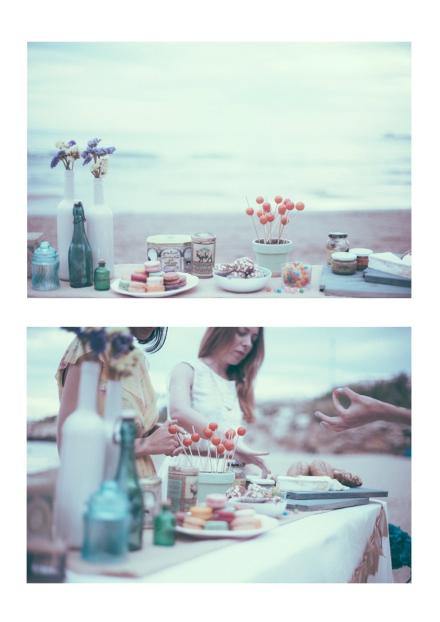 Mesa y comida