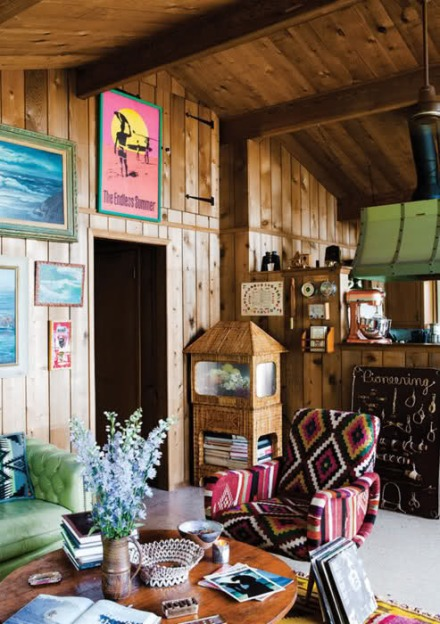 Chandelier Creative Surf Shack in Montauk