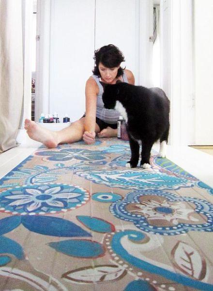 Pintura azulejos colores pastel for Pintar suelo ceramico
